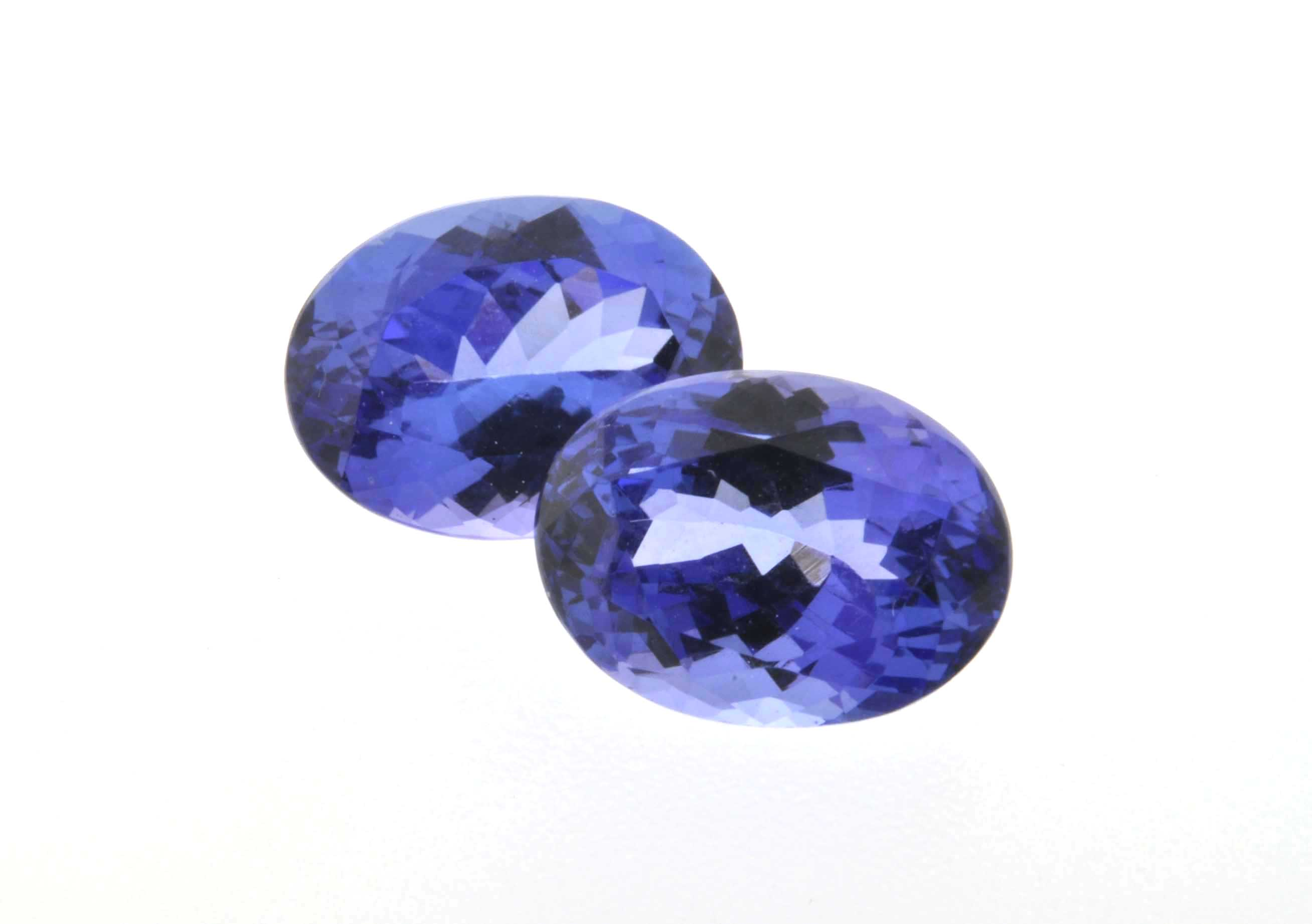 pendant diamonds handmade cut gems with trilliant pin tanzanite princess